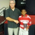 Champ with Mike Carslisle